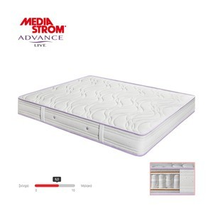 MEDIA STROM ADVANCE LIVE 190X200 ANATOMIKO